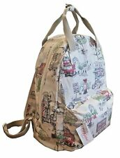 LOVELY CATH KIDSTON BILLIE GOES TO TOWN LONDON BACKPACK CREAM/BEIGE BNWT RRP £48
