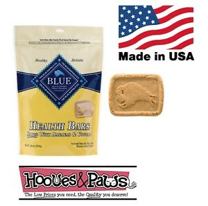 Natural Blue Buffalo Dog Pet Healthy Treats Bananas & Yogurt MADE IN USA