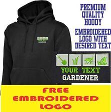 Personalised Embroidered  Hoodie GARDENER Workwear UNIFORM