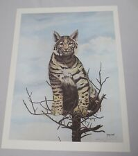 Vtg Gary Crouch Lithograph Limited Edition Artist Proof Signed