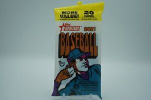 2021 Heritage Baseball SEALED CELLO PACK *20 Cards* RC FAST S&H! FAT VALUE 🔥