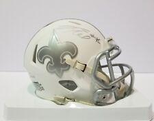 Vonn Bell Autographed Signed Ice Mini Helmet New Orleans Saints JSA