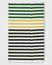 Hunter For Target Beach Towel | Green Stripe | 40 x 72 | Limited Release