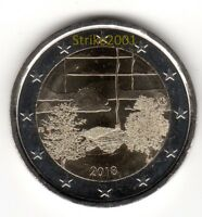 NEW !!! 2 EURO Commemorativo FINLANDIA 2018 SAUNA NEW !!!