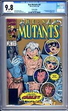 New Mutants #87 - CGC 9.8 (NM/M) 1990 - First Appearance Cable