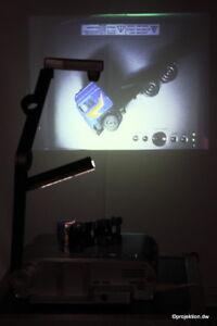 *Toshiba TLP 651*Beamer Projektor+Dokumentenkamera Visualizer Episkop NEUE LAMPE