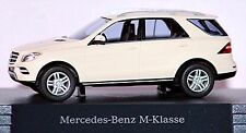 Mercedes Benz M Classe W166 2011-15 calcite blanc blanc 1:87