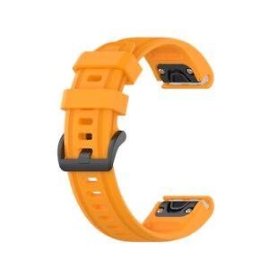 For Garmin Fenix 6 6x pro 6s Watch Straps Band Silica gel Replacement Wristband