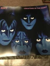 Kiss Creatures of the Night Eric Carr Ace Frehley Gene Simmons Kiss Poster