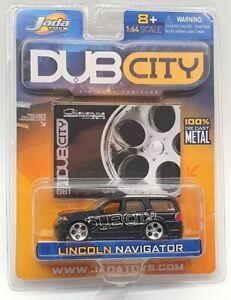 Jada 1/64 Scale Model Car 12002 - Lincoln Navigator - Black