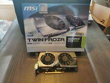 MSI NVIDIA GeForce GTX 660 GPU (2048 MB) (N660 TF 2GD5/OC) Grafikkarte