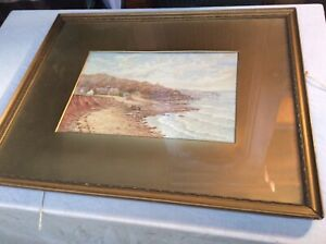 antique framed watercolour paintings