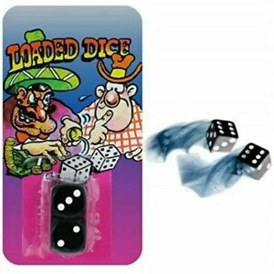Loaded Dice - Classic Practical Joke Novelty Party Trick Prank Fix Cheating