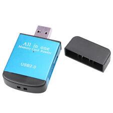 Lector de tarjetas de alta velocidad adaptador Mini USB2.0 Micro SD/TF/memoria SDHC/DV disco #1