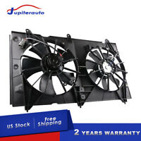 Radiator Condenser Cooling Fan For 03-07 Honda Accord EX LX DX 2.4L 19015RAAA01