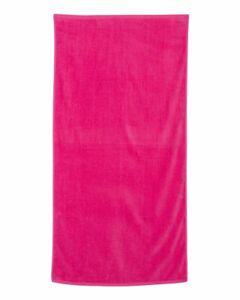 """Q-Tees Velour Beach Towel QV3060 35"""" x 60"""""""