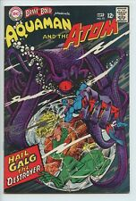 1967 DC BRAVE AND THE BOLD #73 AQUAMAN & THE ATOM APPEARANCE   VF/NM  S1