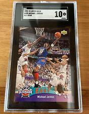 1992 Upper Deck Michael Jordan #425 All Star SGC 10 Gem