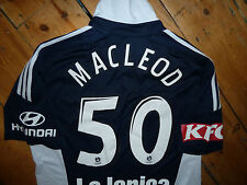 "MELBOURNE VICTORY SHIRT   LARGE   ""MACLEOD 50""  Aussie League Soccer Jersey"