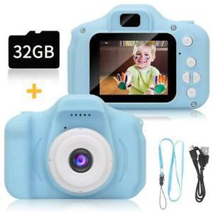 Kids Camera Selfie 32GB Digital Video Recorder & Games  048