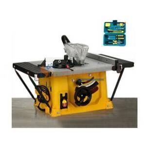 1500W 5000RPM 210mm 8'' Table Saw Electric Cutting Machine Woodworking DIY 220V