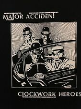 Major Accident Clockwork Heroes Back Patch NEW Clockwork Punk Droogie British Oi