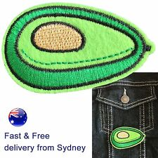 Avocado iron on patch - food guacamole proud smashed avocado generation patches
