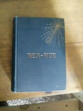 Ben Hur A Tale of the Christ 1887 book Lew Wallace Harpers