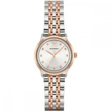 Brand New Emporio Armani Ladies Two-Tone Stainless Steel Watch AR1962