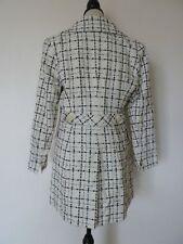 Women's Striped Acrylic Basic Coats & Jackets