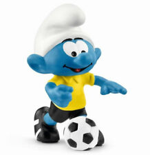 SMURF WITH BALL FOOTBALL SMURF NEW FOR 2018 by SCHLEICH THE SMURFS - 20806