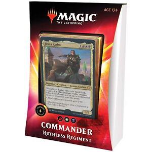 Magic the Gathering - MTG - Commander - Ruthless Regiment - ENGLISH!