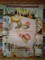 INSPIRATIONS EMBROIDERY MAGAZINE - ISSUE 28 - 2000 - EXCELLENT CONDITION