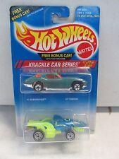 1994 Hot Wheels Krackle Car Series (Sharkruiser and Turboa)