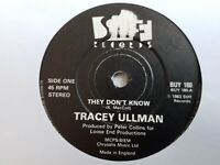 """Tracey Ullman - They Don't Know - 7"""" Vinyl Single"""