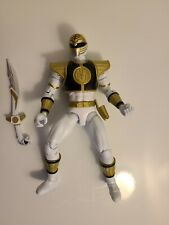 Bandai Mighty Morphin Power Rangers MMPR Legacy Collection White Ranger - Loose