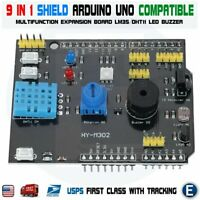 Multifunction Expansion Board DHT11 LM35 For Arduino UNO 9 in 1 Sensor Shield