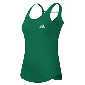 Adidas Women's EQT Performance Green Strap Back Performance Tank Top A88480
