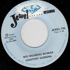 LIGHTNIN' HOPKINS - Wig Wearing Woman 7""