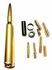 1986-2016 Dodge Ram Bullet Brass/Gold Antenna 50 Cal 1500 2500 3500 Trucks