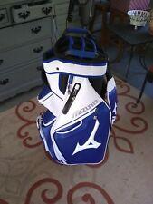 2018 Mizuno Pro Cart Golf Bag Blue/White/Black