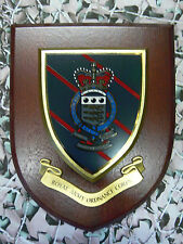 Regimental Plaque/Shield-Royal Army Ordnance Corps RAOC