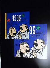 Agenda et calendrier Tintin 1996 TBE