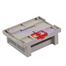 Industrial Plastic Instrument shell din-rail /PLC Enclosure Box Case 110x90x40mm