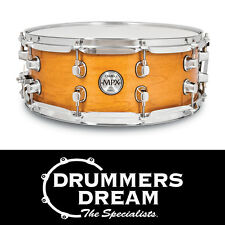 """MAPEX MPX 14"""" x 5.5"""" Maple Snare Drum Gloss Natural Finish - BRAND NEW"""
