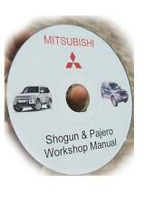 Sello & Outer Oring y CD Manual correcciones Pajero Diesel Bomba De Combustible 2.8 y 2.5 & Delica