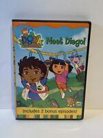 Dora the Explorer - Meet Diego! (DVD 2003 ) Includes 2 Bonus Episodes