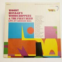 Woody Herman Live At Carnegie Hall (VSP – VSPS-26) 1966 LP Jazz Vinyl Big Band