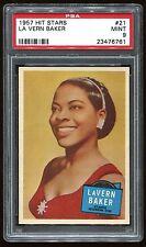 1957 Hit Stars #21 La Vern Baker PSA 9 MINT Cert #23476761