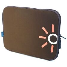 "Laptop Notebook Tablet Tasche Sleeve Hülle  Neopren 26,6cm (10,2"" Zoll) Tobacco"